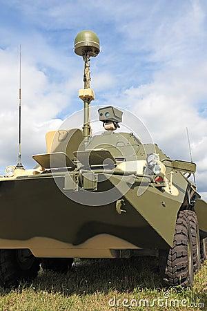 Przewoźnika opancerzony oddział wojskowy