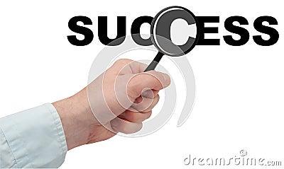 Przyglądający sukces
