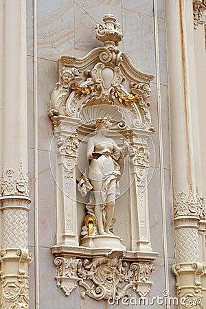 Pseudo-baroque Colonnade, spa Marianske Lazne