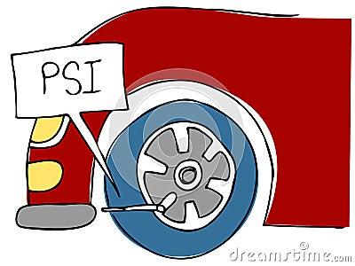 PSI Tire Pressure