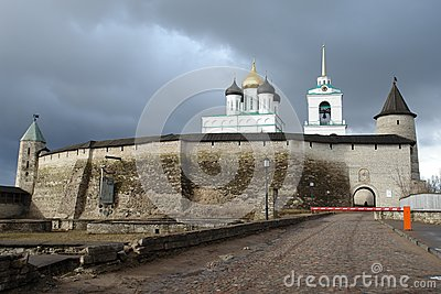 The Pskov Kremlin, fortification