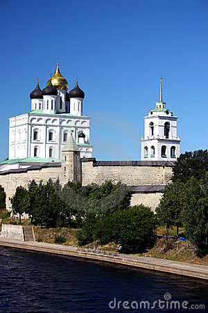 Free Pskov. The Kremlin. Stock Photography - 1556932