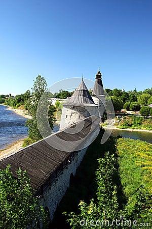 Free Pskov. The Kremlin. Stock Photography - 1557082