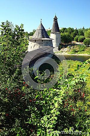 Free Pskov. The Kremlin. Royalty Free Stock Photography - 1557107