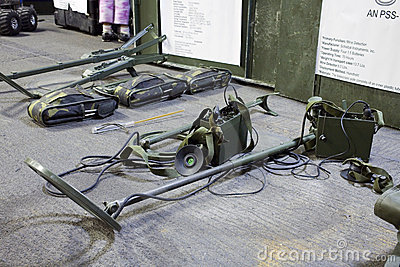 AN PSS-12 and other mine detection equipment