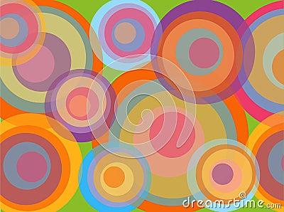 Psychadelic disco circles