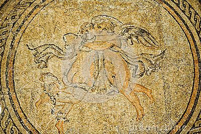 Psyche and eros mosaic