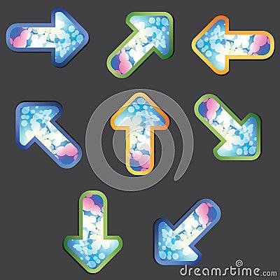 Psychedelic Arrows