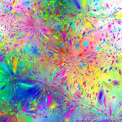 Free Psychedelic Fireworks Royalty Free Stock Photo - 6953025