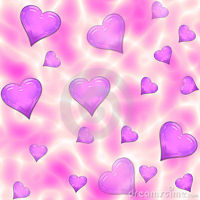Free Psychedelic Seamless Hearts Tile Royalty Free Stock Photo - 5962485