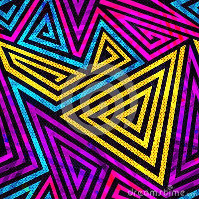 Free Psychedelic Spiral Seamless Pattern Stock Images - 50890444