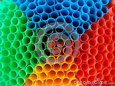 Psychedelic straws
