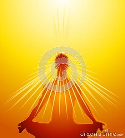 Free Psychic Mind Powers Meditation Stock Photo - 3399300