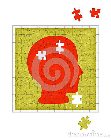Psychologiemetafoor - geestelijke gezondheidswanorde, psychiatrie enz.