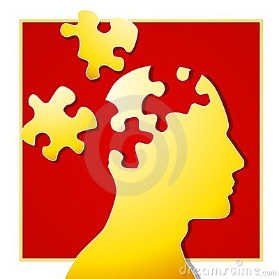 Psychologische Puzzlespiel-Stücke 2