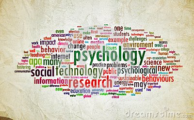 Psychology design vintage