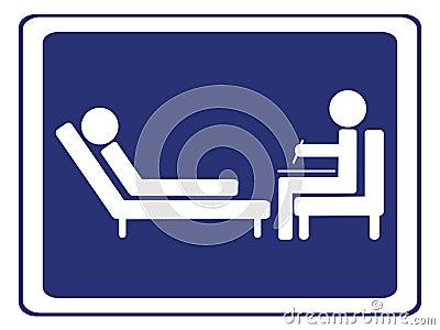 Psychology session sign