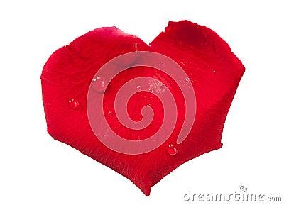 p tale de rose rouge en forme de coeur image stock image 28799531. Black Bedroom Furniture Sets. Home Design Ideas