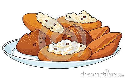 Pâtisserie savoureuse