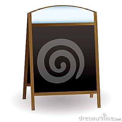 Pub chalkboard