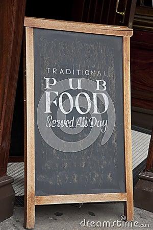 Free Pub Food Menu Stock Photo - 29265260