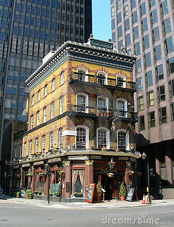 Pub in London, England, UK