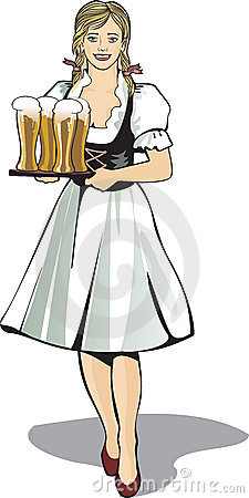 Pub waitress