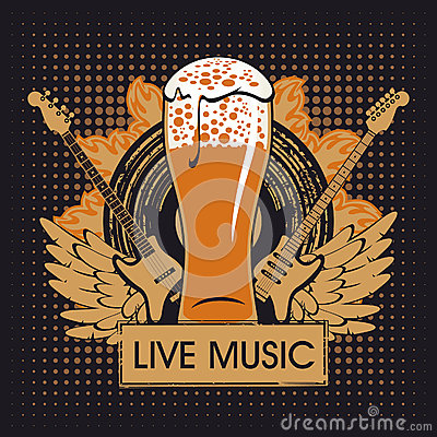 Free Pub With Live Music Royalty Free Stock Images - 28140519
