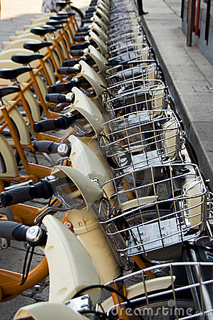 Public bike sharing