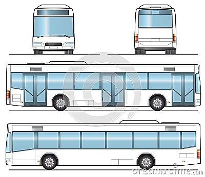 Public Bus Template