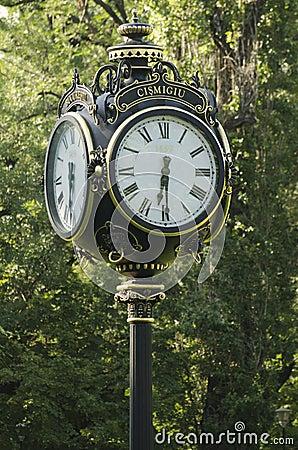 Public clock