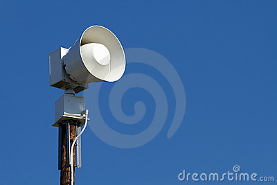 Public Emergency Warning Siren
