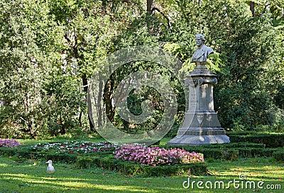 In the Public Garden of Trieste