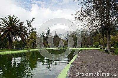 Public gardens in Quito