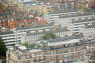 Public Housing from above, Westminster