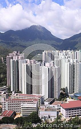 Public housing estates for the poor
