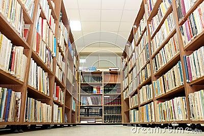 Public library Editorial Stock Photo