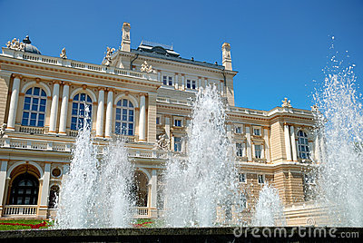 Public Opera Theater In Odessa Ukraine Royalty Free Stock Image - Image: 11013876