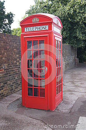 Public Phone Box