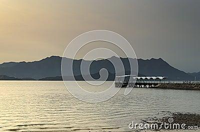 Public Pier at Twilight