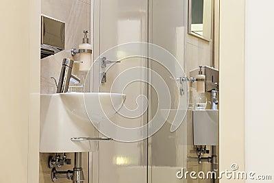 Public restroom in Office