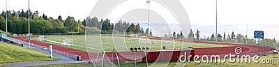 Public school sports field