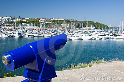 Public Telescope overlooking Harbourside