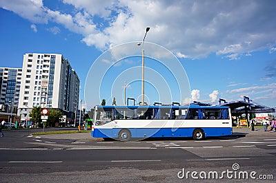 Public transport Editorial Stock Photo