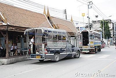 Public transport in Thailand Editorial Image