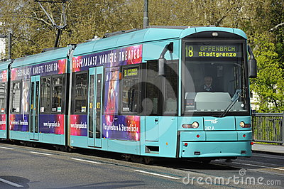 Public Transportation, Frankfurt, Germany