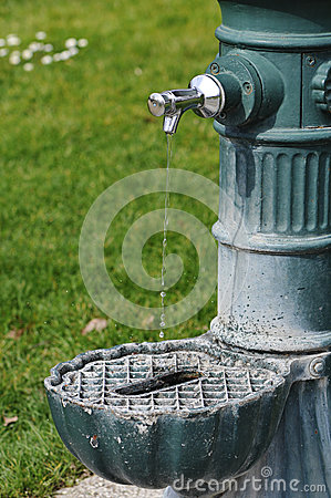 Public Water Fountain