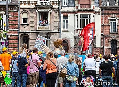 Publicity Caravan Editorial Photo