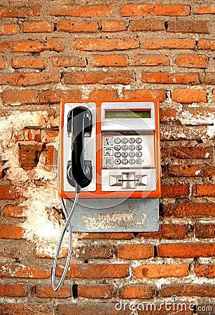 Publiczny telefon
