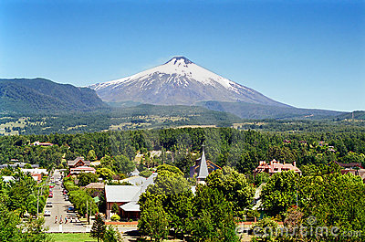 Pucon and Villarica Volcano, Chile